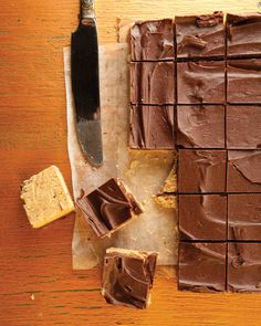 Easy Chocolate Peanut Butter Squares