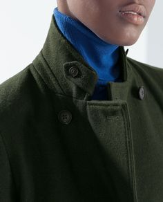 Image 6 of DOUBLE-BREASTED WOOL COAT from Zara
