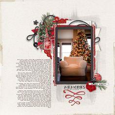 Christmas Lesson  #scrapbook #designerdigitals
