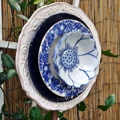Plate's and bowl flower