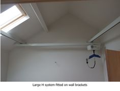 #ceilinghoist. Wall brackets can be used when the ceiling isn't suitable. Part of the wider range from #opemed. See ww.opemed.net for more information.