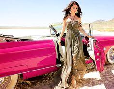 Car and dress!!!