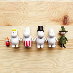 Moomin Figurines, now at the little dröm store. http://shop.thelittledromstore.com/product/moomin-medium-figurines