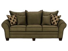 Rendezvous Olive Sofa American Signature Furniture Valuecitypintowin Value City My