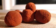 De her chokoladetrøfler med Dumle smager helt fantastisk