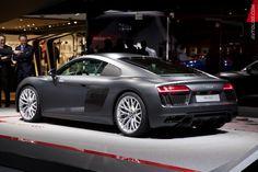 Audi R8_Geneva International Motor Show 2015 #Audi #Audi_R8 #Geneva_2015