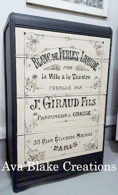 DIY French Inspired Dresser - Reader Features - The Graphics Fairy
