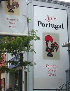 Dundas Street West - Little Portugal Toronto    Photo credit: http://occasionaltoronto.blogspot.ca/2011/08/little-portugal.html