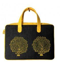 Laptop Yellow Tree Bag