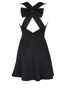 Party Bow Back Dress