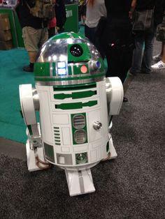 Green R2-D2 - Star Wars