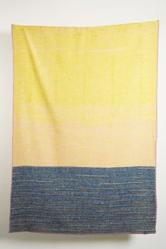 A Faux Pas Wool Blanket by Sophie Probst Bauhaus Design, Wool Blanket, Weaving, Take That, Colours, Pure Products, Blankets, Pattern, Inspiration