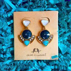 I'm blue da-ba-Dee-da-ba-daaiiii | #candibyaf #sparkle #turquoise #jewelry #chloeandisabel #texasblogger #texasboutique #boutique