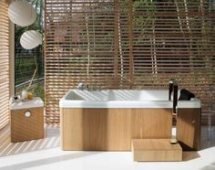 www.vitendi.co.ke TRANSFORM YOUR BATHROOM INTO A BALINESE SPA WITH OUR WOODEN BLINDS AND BAMBOO BLINDS