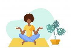 Yoga different people Yoga Illustration, Character Illustration, Digital Illustration, Yoga Art, Yoga Poses For Beginners, Yoga Challenge, Walking In Nature, New Hobbies, Stress And Anxiety