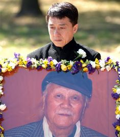 MARTIAL arts movie star Jackie Chan has spoken of his love for his father after attending his funeral in Canberra.   Charlie Chan died in a Hong Kong hospital last week, aged 93. He was reportedly suffering from prostate cancer.