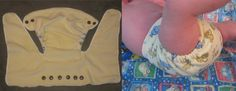 Free sewing pattern to make fitted diapers.  This looks like the ticket to use old towels and receiving blankets.