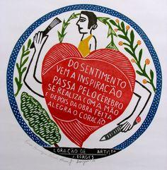 Xilogravura de J. Borges