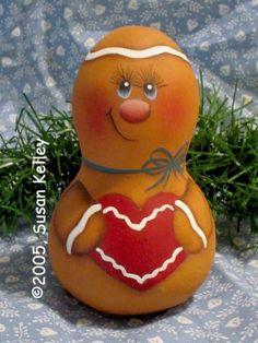 Mini Ginger Gourd ePacket - Susan Kelley - PDF DOWNLOAD