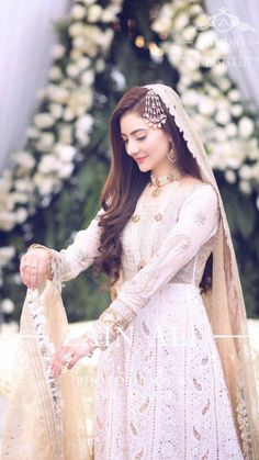 Most Affordable Pakistani Bridal Designers: The dress worn by a bride is not merely any dress. It speaks of the traditions and cultures of the one who has the dress draped on her. In Pakistan, the wedding dress is in fact NEVER a subtle affair. Bridal Mehndi Dresses, Nikkah Dress, Pakistani Wedding Outfits, Bridal Dress Design, Wedding Dresses For Girls, Pakistani Wedding Dresses, Wedding Dress Trends, Bridal Outfits, Bridesmaid Dresses