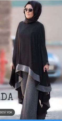 We muslim We muslim Fashion Mode, Abaya Fashion, Fashion Wear, Fashion Outfits, Muslim Dress, Hijab Dress, Hijab Outfit, Muslim Hijab, Islamic Fashion