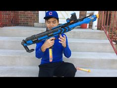 Nerf's Colossal New Gun Blasts 100 Rounds At 112KM/H