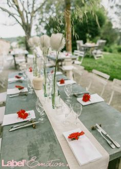 Rustic chic wedding in provence on pinterest french - Deco mariage nature chic ...