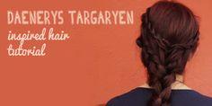 Daenerys Targaryen Hair tutorial - Ponycat