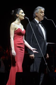 SCHOEPS microphone setups are our #1 specialty as seen here with Andrea Bocelli & Sila.