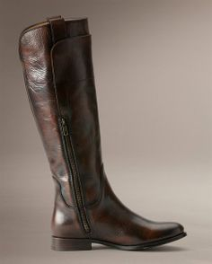 Back Zip Back Leather Boot | STYLED // for women | Pinterest ...