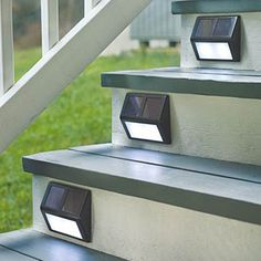 Lighting - Outdoor Lighting - LED Solar Lights - 1 pc Solar Powered LED Light…