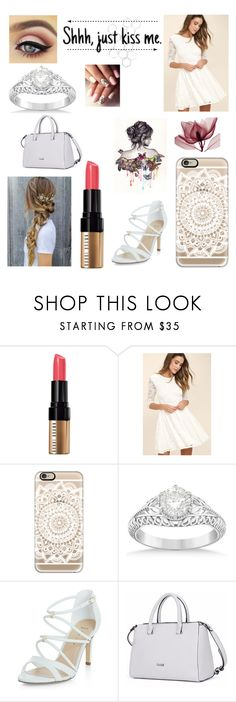 """Have a spring dance tonight"" by willow-170 ❤ liked on Polyvore featuring Bobbi Brown Cosmetics, LULUS, Casetify, Allurez and New Look"