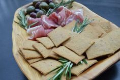 Rosemary Tallow Crackers | Civilized Caveman Cooking Creations | Bloglovin'