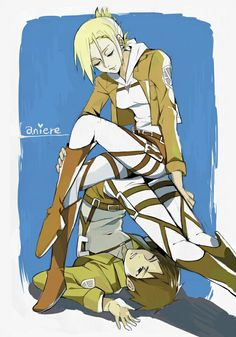 Annie x Eren.   I ship it