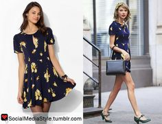 Buy Taylor Swift's Floral Print Dress, here!
