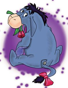 The Ppatch: Winnie The Pooh Eeyore Quotes, Winnie The Pooh Quotes, Disney Winnie The Pooh, Cute Disney, Baby Disney, Disney Art, Animated Shark, Eeyore Tattoo, Eeyore Pictures