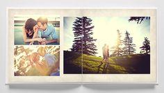 Beautiful, Clean, Modern Album Design Templates for Professional Wedding and Portrait Photographers - The Ultimate Album Builder for Photoshop and InDesign Wedding Album Design, Heart Photography, Layout Inspiration, Graphic Design Illustration, Textured Background, Book Design, Photoshop, Lightroom, Portrait Photographers