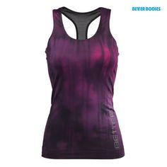 Better Bodies Grunge T-Back - Steel Grey, Hot Pink, Aqua Blue - $64
