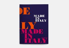 Cover of the Made in Italy book
