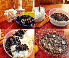 my #marshmallow&oreo cake