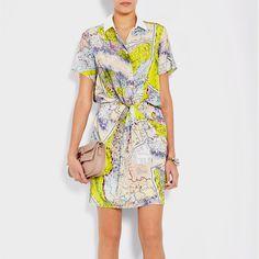 Carven Map Print dress... Love