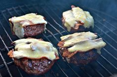 Bacon Cheddar Burgers - hickory smoked bacon and Wisconsin cheddar jack cheese is ground into the meat.