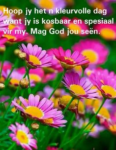 Good Morning Wishes, Good Morning Quotes, Happy Birthday Messages, Birthday Wishes, Lekker Dag, Evening Greetings, Afrikaanse Quotes, Goeie More, Special Quotes