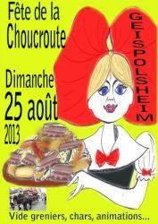 Fête de la Choucroute, Geispolsheim, Alsace