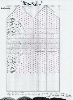 Blogg – Sida 8 – Dela dina vantar! Knitted Mittens Pattern, Crochet Gloves, Knit Mittens, Knitting Socks, Knitting Charts, Knitting Patterns, Crochet Patterns, Crochet Chart, Knit Crochet