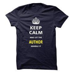 Awesome Tee I am an Author T shirts