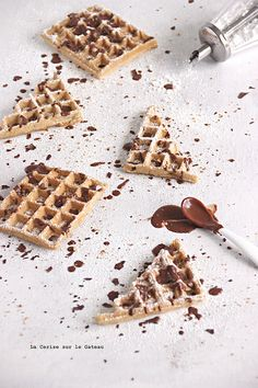waffles & chocolate
