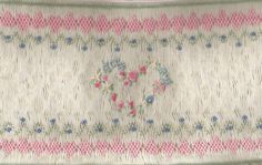 Heart smocking plate. I haven't smocked in years - but this was the design on my daughters 1st communion dress - 20 years ago!  I still have it!
