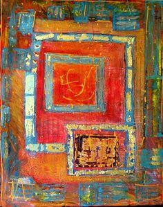 The Red Maze, Carole Meyer art
