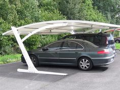 Carports Designs For Minimalist Homes Car Canopy, Carport Canopy, Building A Carport, Carport Garage, Design Garage, Carport Designs, Carport Ideas, Pergola Kits, House Design